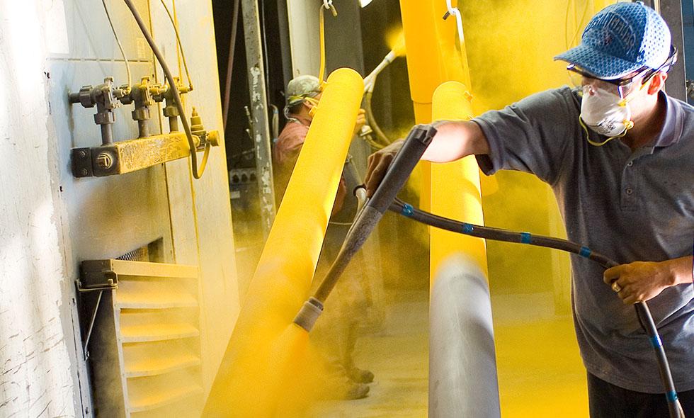 powder coating gold coast