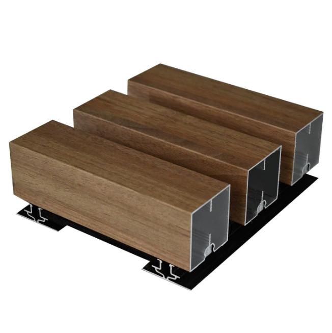 wood look aluminium